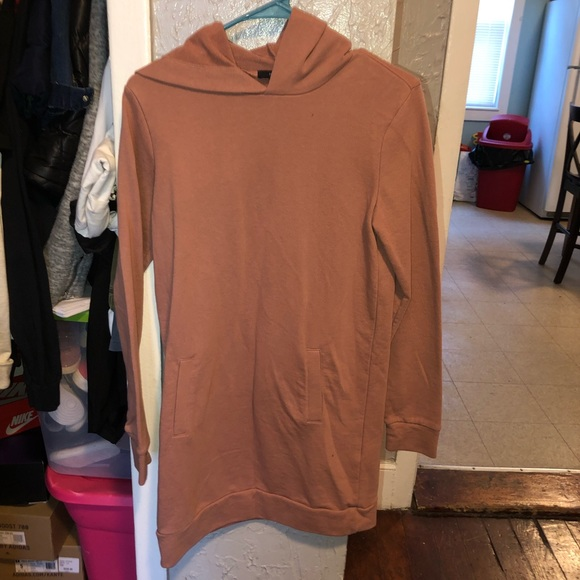 Forever 21 Dresses & Skirts - F21 dusty rose oversized hoodie